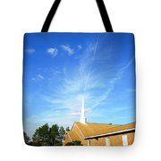 Sending A Message Tote Bag
