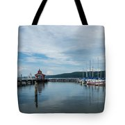 Seneca Lake Harbor - Watkins Glen - Wide Angle Tote Bag