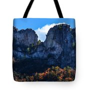Seneca Rocks Tote Bag