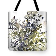 Senecio And Other Plants Tote Bag