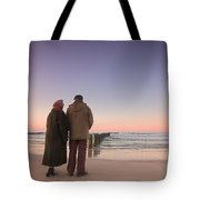 Seniors' Love And Ocean Tote Bag