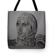 Senna The Gaze Of Myth. Tote Bag