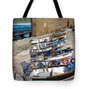 Sennen Cove Fishing Fleet Tote Bag
