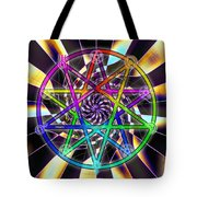 Sense Creation Five Tote Bag