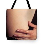 Sensual Abstract Closeup Of A Couple Tote Bag