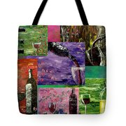 Sensual Wine  Tote Bag by Mark Moore