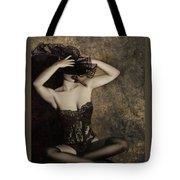 Sensuality In Sepia - Self Portrait Tote Bag