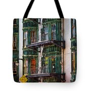 Sentinel Building Or Columbus Tower Tote Bag