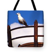 Sentinel Sea Gull Tote Bag
