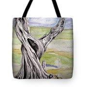 Sentinel Tree Tote Bag