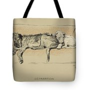 Separation, 1930, 1st Edition Tote Bag