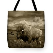 King Of The Herd Tote Bag