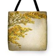 Sepia Gold Tote Bag
