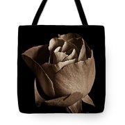 Sepia Rose Portrait 2 Tote Bag