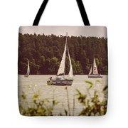 Sepia Sailing Tote Bag