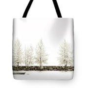 Sepia Tree Tote Bag