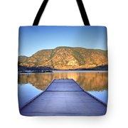 September 1st At Skaha Lake Tote Bag