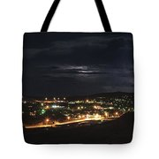 September Lightning Tote Bag