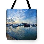 September Morning At Lyme Regis Tote Bag
