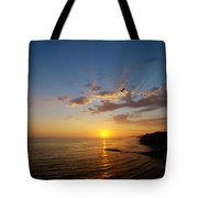 September Sunday Sunset  Tote Bag