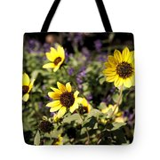 September Yellow Tote Bag