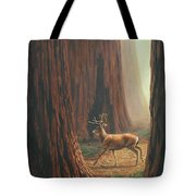 Sequoia Blacktail Deer Phone Case Tote Bag by Crista Forest