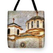 Serbian Orthodox Church - San Marcos California Tote Bag
