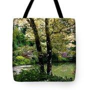 Serene Garden Retreat Tote Bag