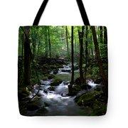 Serene Greenbrier Area Stream  Tote Bag