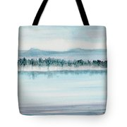 Serene Lake View Tote Bag