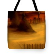 Serene New England Cabin In Autumn #3 Tote Bag