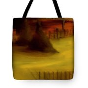Serene New England Cabin In Autumn 5 Tote Bag