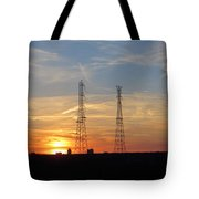 Serene Setting Tote Bag