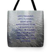 Serene Water Tote Bag by Joseph Baril