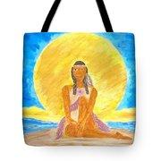 Sereneearth Peaceful Moon Tote Bag