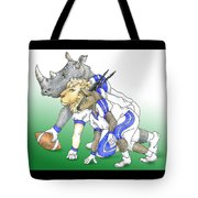 Serengeti Scrimage Line Tote Bag