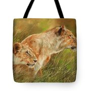 Serengeti Sisters Tote Bag