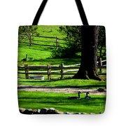 Serenity At Tashmoo Farm Tote Bag