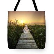 Serenity At The Lake Tote Bag