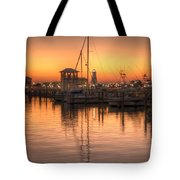 Serenity Harbor 4 Tote Bag