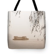 Serenity In Sepia Tote Bag