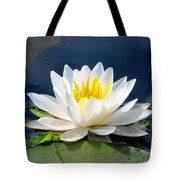Serenity On The Lily Pond Tote Bag