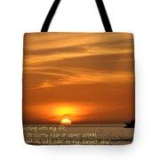 Serenity Sunset Tote Bag