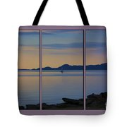 Serenity Tryptych Tote Bag
