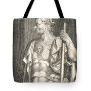 Sergius Galba Emperor Of Rome  Tote Bag by Titian