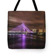 Seri Wawasan Bridge At Night Tote Bag