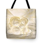 Series Abstract Art In Earth Tones 2 Tote Bag