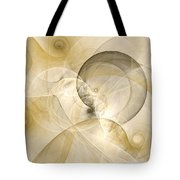 Series Abstract Art In Earth Tones 3 Tote Bag