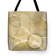 Series Abstract Art In Earth Tones 4 Tote Bag