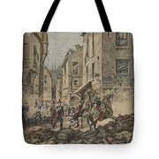 Serious Troubles In Italy Riots Tote Bag